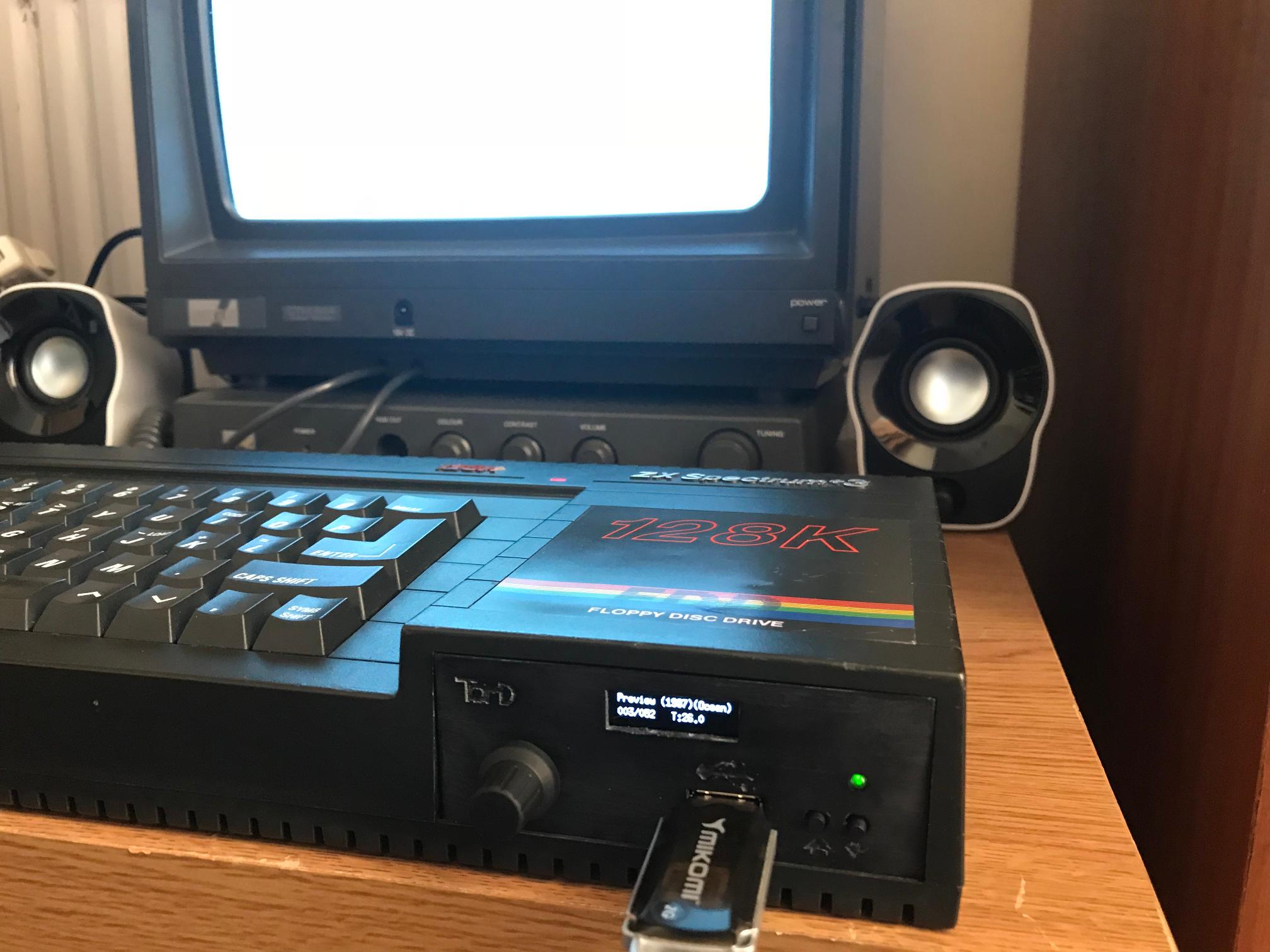 ZX Spectrum +3 & Amstrad CPC6128/664 Internal USB Floppy
